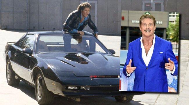 David Hasselhoff-fal tér vissza a Knight Rider