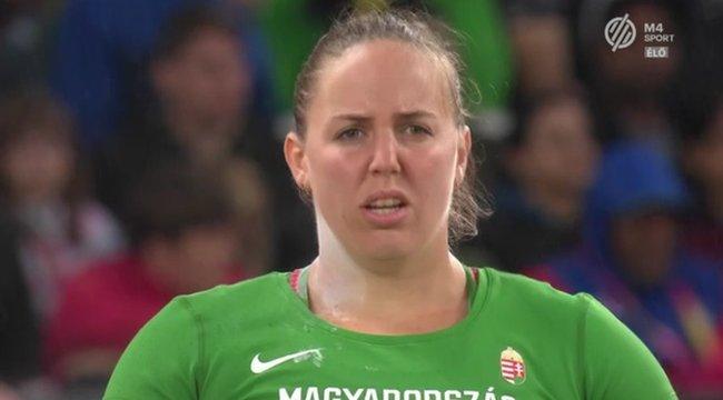 Márton Anita ezüstérmet szerzett az atlétikai világbajnokságon
