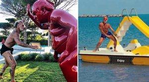 Mémhadjárat indult a magamutogató olasz playboy ellen - fotók