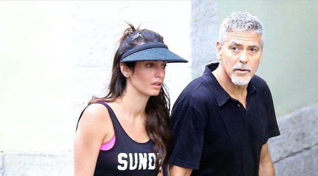 Clooney beleőszült az apaságba