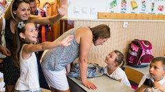 Fel kell készíteni a gyereket az iskolára