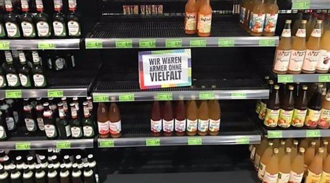 Így nézne ki egy szupermarket, ha csak hazai termékeket lehetne kapni?