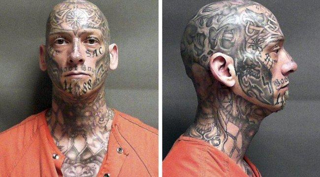 Bátor ember: szénné varrt arccal fut a törvény elől