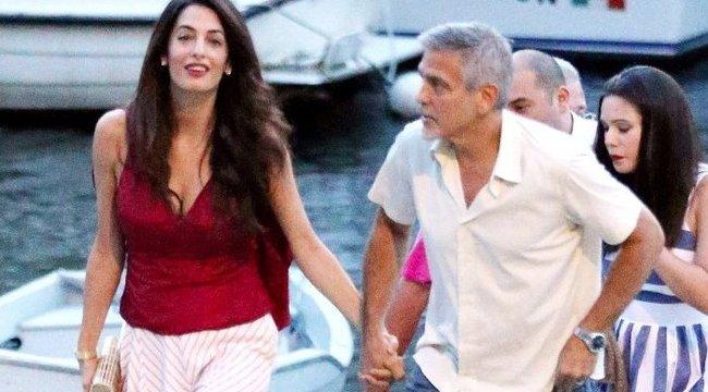 Nem tudja tartani a tempót feleségével George Clooney