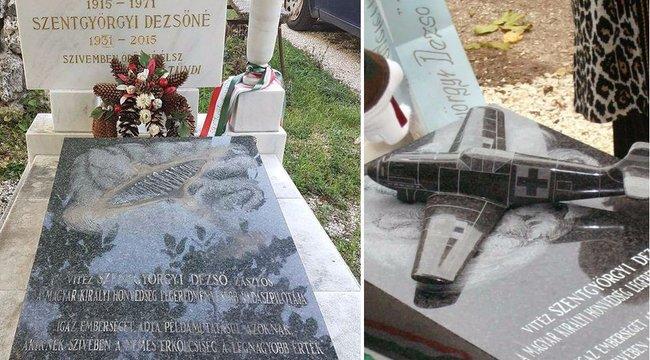 Felháborító: ismét síremléket rongáltak a Farkasréti temetőben