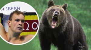 Medve elől menekült úszóbajnokunk