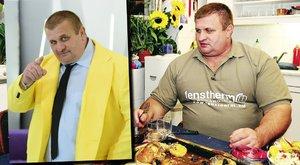Fekete Laci vacsorája: 2 kiló hús, 12 krémes - interjú