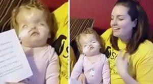 Nem csak a gyerkőcök, anyukájuk is kinevette a súlyosan beteg kislányt