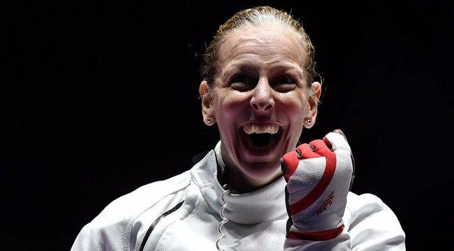 Az olimpiai bajnok Szász Emese már az új idényre készül