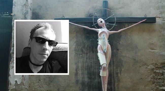 Ijesztő szobrokat alkot a fájdalomról Árpád
