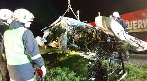 220-szal csapódott pillérnek a magyar nő Ausztriában – brutális képek