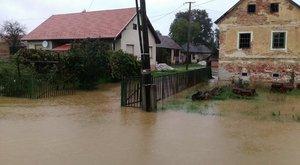 Árvízkészültség: Vas megyébenvan, ahol 70 milliméternél is több eső esett