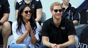 Előszörjelent meg nyilvánosan egy párként Harry herceg barátnőjével – videók