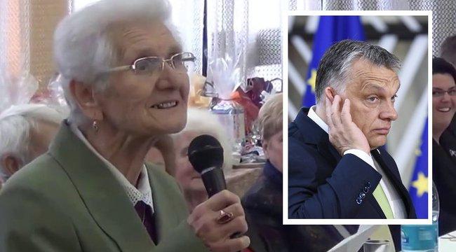 Meghalt Rozi néni, az Orbánt éltető versek költője
