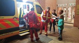 7sérültjevan a szombathelyi robbanásnak - gyereket is el kellett látni