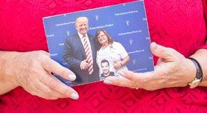 Ágnes: Trump megcsókolta a fiam fényképét