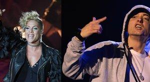 Eminemmel rappel Pink