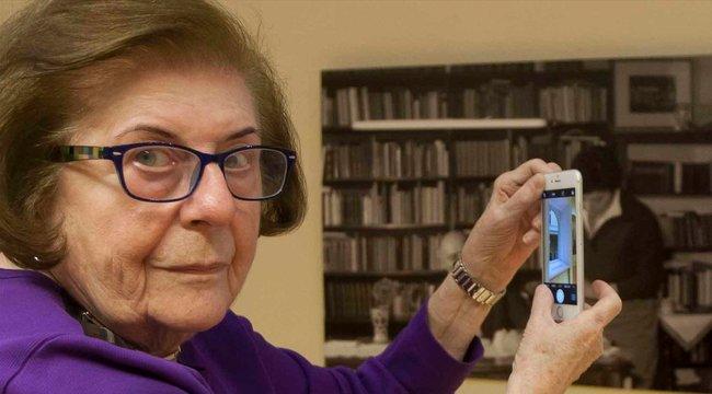 Már csak mobillal készít képeket a fotográfia nagyasszonya, Keleti Éva