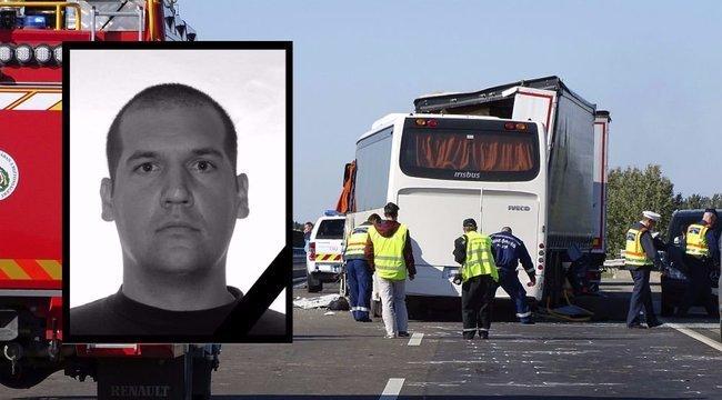Tragikus baleset az M5-ösön: Eltemették az elhunyt határvadászt