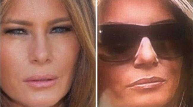 Az a nő nem is a felesége, aki Donald Trump mellett áll?