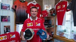Räikkönen ajándékokkal halmozza el magyar barátait