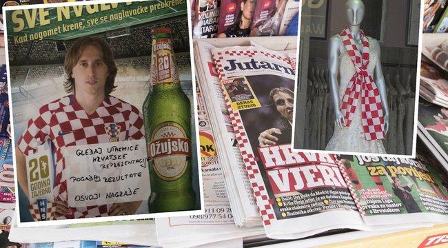 Foci-vb: Őrületre készülnek a horvátok