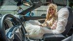 Luxus Vivi 50 milliós kocsival érkezett az esküvőjére - fotók