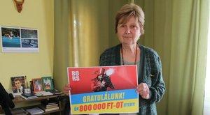Bors-játék: Előfizetésnek köszönheti a 800000 forintot Erzsike