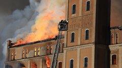 Tűzvész Békésben - Másfél óra alatt égett porrá a csabai malom