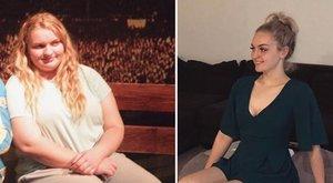 Alig egy év alatt az Instagram miatt fogyott 60 kilót a tinilány