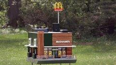 A McDonald's megnyitotta a világ legkisebb éttermét méhecskéknek