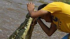 Ez a férfi lenne a valódi Krokodil Dundee? fotók