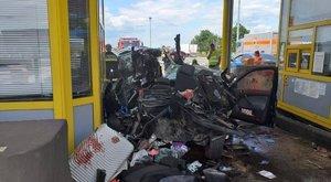 Teljesen felépülhet a horvátországi balesetben megsérült család