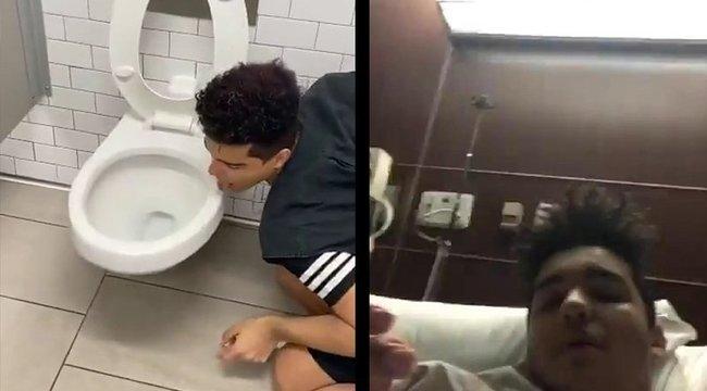 Csúnyán ráfáztak a fiatalok, akik a koronavírussal dacolva nyalogattak – videó