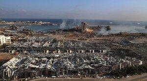 Bejrúti robbanás - Elindult a debreceni különleges orvos- és mentőcsoport