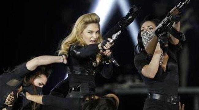Madonna úgy nézett ki, mint Lara Croft