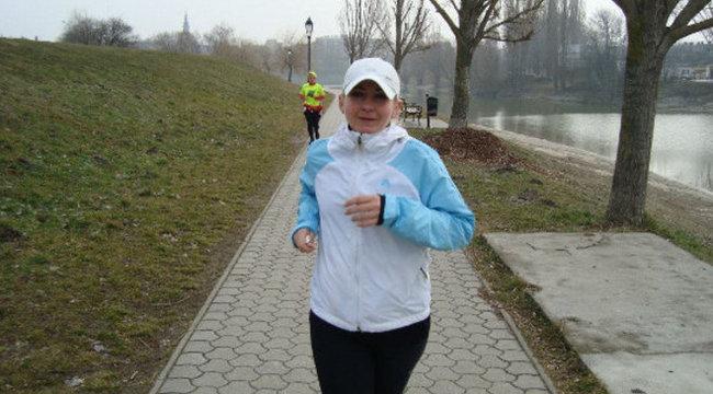 Amatőrként nyert futóversenyt Erika