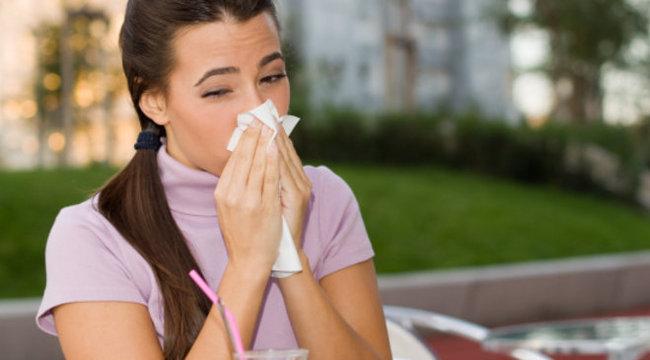 Megfázás nyáron