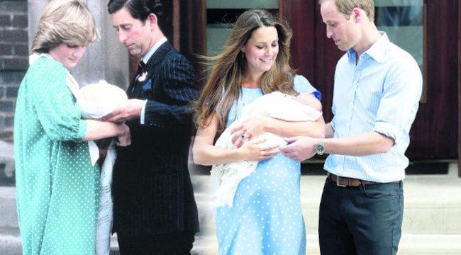 Katalin kismamaként is Dianát másolja