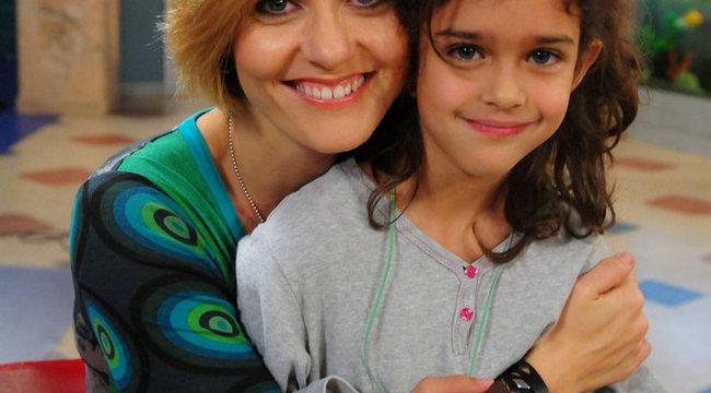 Imád színészkedni Fábián Anita lánya