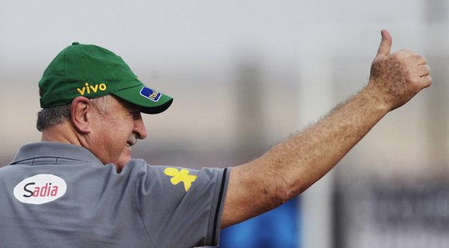 Scolari: Brazília lesz a világbajnok