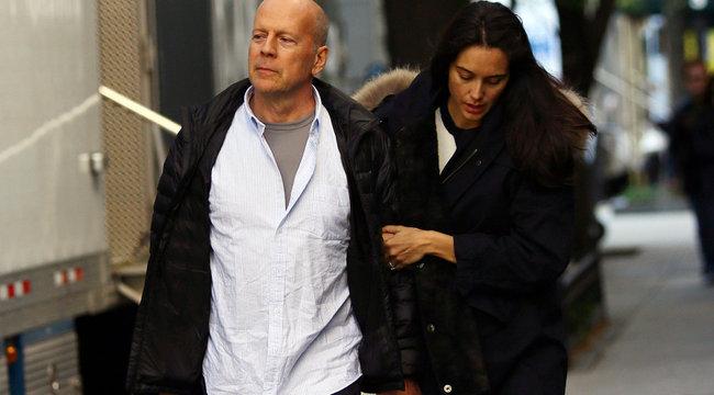 Hoppá! Újra apa lesz Bruce Willis?
