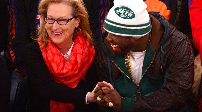 Hihetetlen: Meryl Streep új barátja 50 Cent