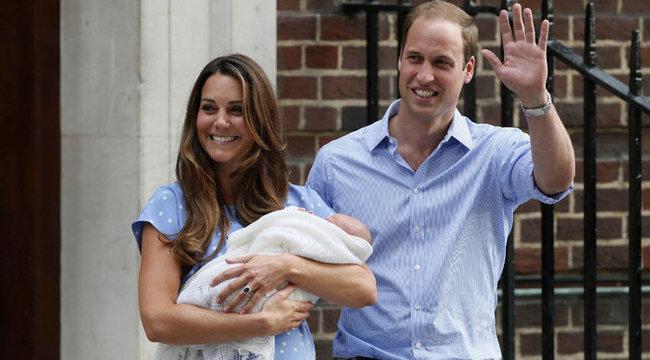 Kettesben lazít kisfiával Katalin hercegnő