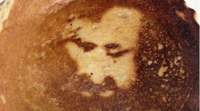 Nagypénteken jelent meg Jézus arca