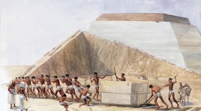 Megfejtették a titkot: így épültek a piramisok