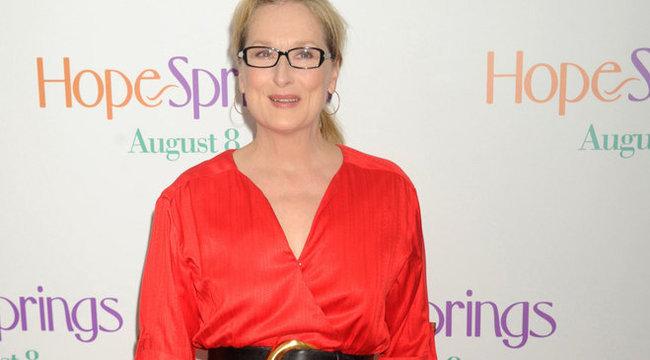 Hoppá! Magyarokkal  lép fel Meryl Streep