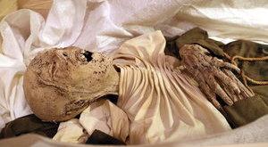 Ilyen a pozsonyi apáca kétszáz éves múmiája