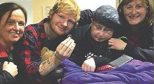 Rajongója kérte meg Ed Sheeran kezét!