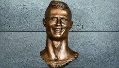 Elképesztő szobrot kapott C. Ronaldo